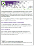 CEDS In The Field - WICHE
